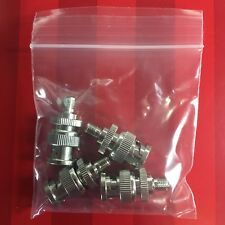 NEW 4 pack SMA female to BNC male coax RF connectors adapters *USA Seller*