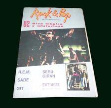 U2 - Rock & Pop # 81 Magazine Argentina