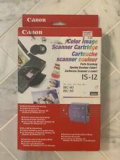 Canon IS12 BubbleJet Printer Cartridge BJC-85 BJC-80 BJC-55 BJC-50 New Old Stock