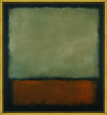 Framed Mark Rothko Untitled8 Giclee Canvas Print Paintings Poster Reproduction
