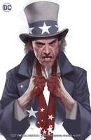 FREEDOM FIGHTERS #1 2018 1ST PRINT Ben Oliver Variant DC UNIVERSE UNREAD NM