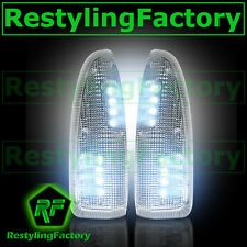 03-07 Super Duty Side Mirror Turn Lights WHITE LED CLEAR Lens Replacement Kit