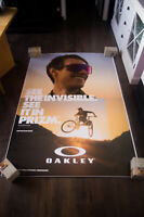 OAKLEY SUNGLASSES 4x6 ft Bus Shelter Original Fashion Advertising Poster