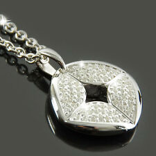 FOSSIL Halskette Damen Kette Collier ELEMENT Silber Zirkonia Schmuck JFS00011040