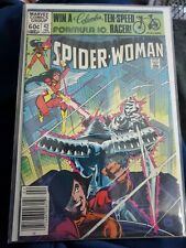Spider-Woman #42 (1978 Series Newsstand) Leialoha Origin Viper Silver Samurai