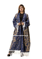 Femme Haut Bikini Boho Ombre Maxi Robe Kimono Cardigan Long Vêtements de Plage