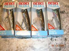 20 Rebel Saltwater Super Pop R Fishing Crank Bait Barfish