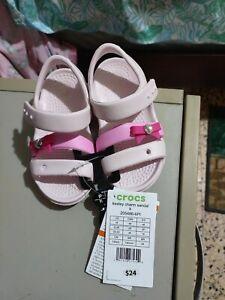 Toddler Girls crocs size 6