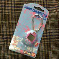 CHIBI TAMAGOTCHI UNIQLO BANDAI Limited Rare Blue and Pink Japan NEW