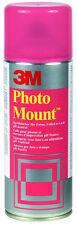 3m Photo MOUNT BARATTOLO sprühkleber F. foto, diapositive, ecc. 400ml/260g 050777 NUOVO & OVP