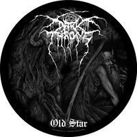 OFFICIAL LICENSED - DARKTHRONE - OLD STAR BACK PATCH BLACK METAL
