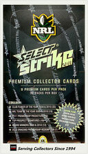 FACTORY BOX!! Select 2011 NRL STRIKE TRADING CARD BOX (36 Packs)--RARE!
