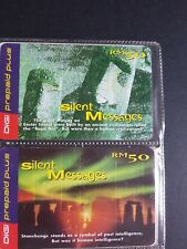 Digi Malaysia Silent Messages Used Phone Cards Set
