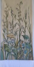 ORIGINAL HAND WOVEN TAPESTRY BY RENOWNED POLISH DESIGNER / ARTIST -SIGNED!
