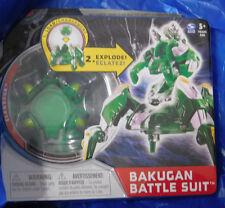 BAKUGAN Mechtanium Surge Green Ventus CLAWBRUK Battle Suit Includes Ability Card