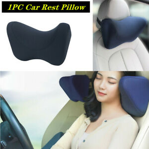 Side Rest Pillow Memory Foam Car/Travel Seat Ergonomic Headrest Neck Support Pad