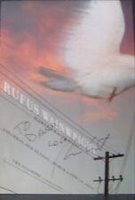 RUFUS WAINWRIGHT Signed FILLMORE POSTER Martha Wainwright ORIGINAL BGF 514