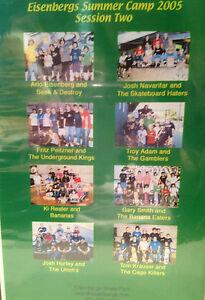 Eisenbergs Skatepark CAMP 2005, SESSION 2, SKATEBOARD, ROLLERBLADE dvd, new