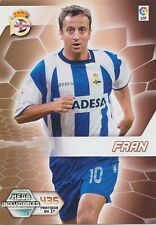 N°410 FRAN # DEPORTIVO CORUNA CARD PANINI MEGACRACKS LIGA 2006