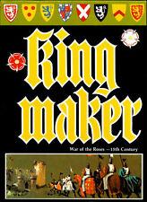 Avalon Hill Kingmaker Game PDF Reference DVD Free P+P