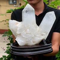 5.87LB A+++Large Himalayan high-grade quartz clusters / mineralsls