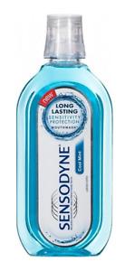 Sensodyne Cool Mint Mouthwash All Day Protection Freshness Long Lasting 500 ml