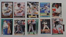 1573 ~ Lot of 10 Different Frank Thomas MLB Baseball Cards ~ Chicago White Sox