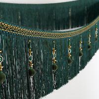 4 meter/lots luxury European 20cm height tassel curtain lace fringe trims N145
