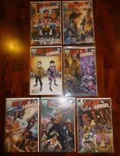 DC IWC crossover Star Trek Legion of Super Heroes 1-6 A PLUS variant comic book