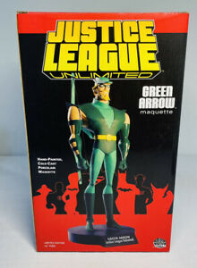 GREEN ARROW Justice League Maquette Statue Figure 042/1100