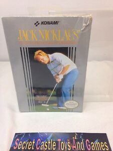 SEALED Jack Nicklaus' Greatest 18 Holes Of Major Championship Golf Nintendo NES