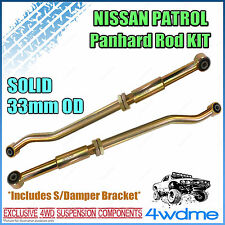 Nissan Patrol GU Series 2 Onward Y61 4WD Adjustable Front & Rear HD Panhard Rods