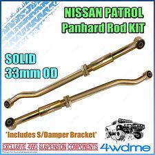 Nissan Patrol GU Series 2 Onward Y61 4WD Adjustable Front & Rear HD Panhard Rods
