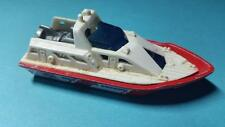 "Matchbox 2000 Coast Patrol Mbx Ship Boat - Red & White - Die Cast - Rare 3"""