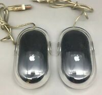 Apple Pro Mouse USB Wired M5769 Optical Mouse, Lot of 2 - Fast Ship - D13