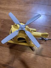 Green Toys Helicopter, Yellow And Gray