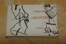 Los Amantes (Lovers) Hand Signed by Libero Badii 1968 Handmade Book 25 Prints