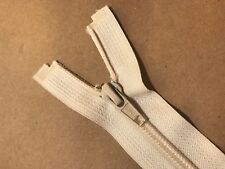 "Nylon Coil One Way Zipper 46"" EXL Beige"