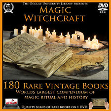 Witchcraft, Witch, Witches, Occult, Magic, Spell, Demonology, Demons - Books DVD