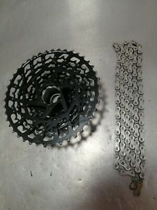 Sram Xg-1150 11 Speed XD Cassette And Chain matched pair