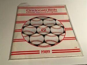 1989 Cincinnati Reds Yearbook - Pete Rose, Barry Larkin, Ken Griffey