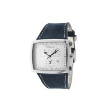 Orologio ROBERTO CAVALLI mod. RETTANGOLO ref. 7251905125 Unisex in pelle blu