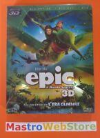 EPIC - IL MONDO SEGRETO - BLU-RAY 3D SLICASE BOX nuovo sigillato [dv42]