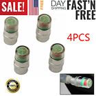 4PCS Car Auto Tire Pressure Monitor Valve Stem Cap Sensor Indicator Warn 36psi