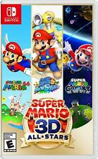 Super Mario 3D All Stars Nintendo Switch Brand New Sealed Sunshine Galaxy 64