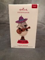 Hallmark 2019 Fleece Navidad Keepsake Ornament Feliz Magic