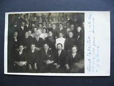 CANADA box social 1908 postcard with RPO cancel