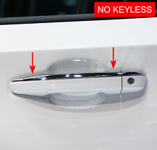 For Honda Accord 10th 2018+ Chrome Door Handle Strips Cover Surrounds Cap
