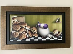 Peter Smith - When It's Scone It's Scone - Framed With COA