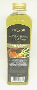 Lemon Grass Essential Oil Antibacterial liquid soap with biocides 250ml